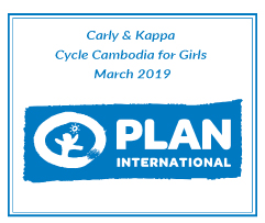 Carly & Kappa's Cycle Cambodia for Girls 2019